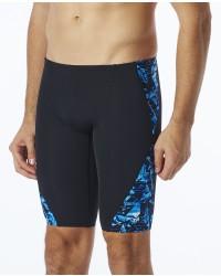 TYR Mens' Vitrum Blade Splice Jammer Swimsuit