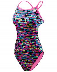 TYR Girl's Drift Crosscutfit Tieback Swimsuit