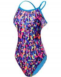 TYR Girls' Santa Marta Crosscutfit Tieback Swimsuit