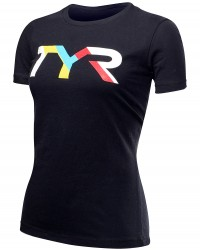 Gift Ideas for Christmas - TYR Women's 'Primary' Graphic Tee