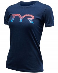 "TYR Women's ""TYR Veteran"" Graphic Tee"