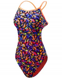 TYR Girls' Costa Mesa Trinityfit Swimsuit