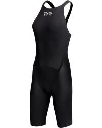 Women's Avictor Solid Open Back Swimsuit