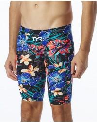 TYR Men's Avictor Lava High Jammer Swimsuit