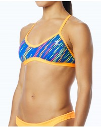 TYR Women's Sassari Crosscut Tieback Top