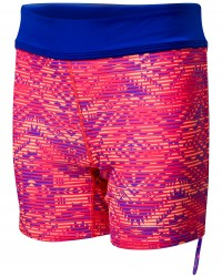 TYR Girls' Conquest Della Boyshort  - Coral