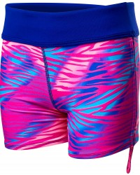 TYR Girls' Dreamland Della Boyshort - Pink/Multi