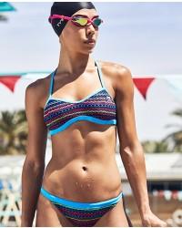 Shop The Look - Morocco Mojave Tieback Top & Morocco Tropix Bikini Bottom