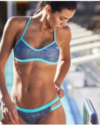 Shop The Look - Sandblasted Mojave Tieback Top & Sandblasted Cove Mini Bikini Bottom