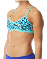 TYR Women's Fragment Mojave Tieback Top Swimsuit