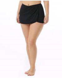 Women's Solid Swim Skort