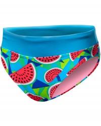 TYR Girls' Tutti Frutti Penny Bikini Bottom  - Turquoise