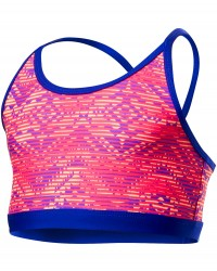TYR Girls' Conquest Trinity Top - Coral