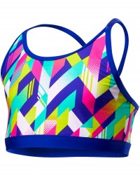 TYR Girls' Paint Party Trinity Top - Multi