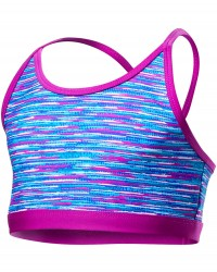 TYR Girls' Sunray Trinity Top - Multi