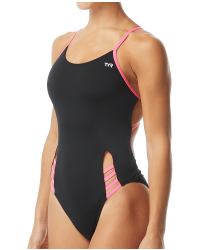 TYR Women's Solid Tetrafit Swimsuit