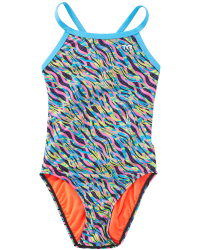 TYR Girls' Zazu Diamondfit Swimsuit