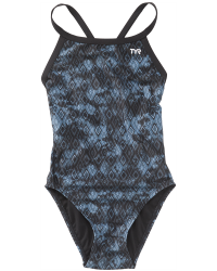 TYR Girls' Glacial Diamondfit Swimsuit