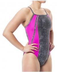 Women's TYR Pink Viper Diamondfit Swimsuit
