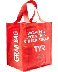 Women's Grab Bag Thin & Thick Strap Lycra Swimsuit