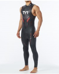 Mens Triathlon Cat 5 Sleeveless Wetsuit