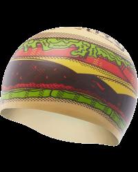 TYR Hamburger Silicone Adult Swim Cap