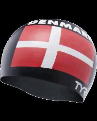 TYR Denmark Silicone Adult Swim Cap