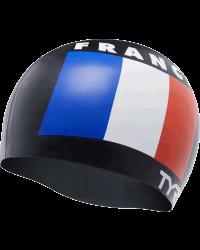 TYR France Silicone Adult Swim Cap