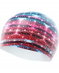 TYR Glitz Graphic Swim Cap