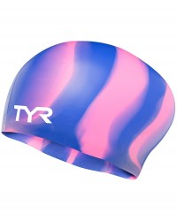 TYR Long Hair Silicone Swim Cap