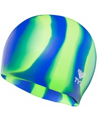 TYR Multi-Color Silicone Adult Swim Cap