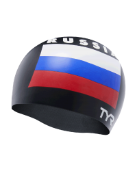 TYR Russia Silicone Adult Swim Cap