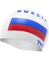 TYR Russia Silicone Adult Swim Cap