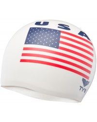 TYR USA Silicone Adult Swim Cap