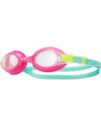 Kids' TYR Pink Swimple Goggle