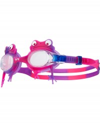 TYR Kids' Swimple Frog Goggles - Goggles for Kids