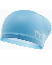 TYR Silicone Comfort Long Hair Swim Caps