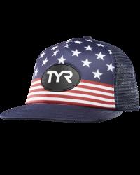 TYR Flat Brim USA Hat