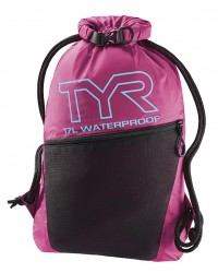 TYR Alliance Waterproof Sackpack-Pink