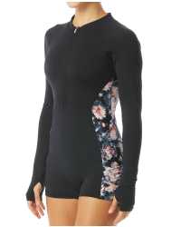 TYR Women's Fiona Long Sleeve One Piece Jumpsuit-Padma