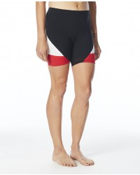 """Running Gifts for Women - Women's Carbon 6"""" Tri Shorts"""