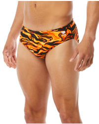 TYR Men's Miramar Racer Swimsuit- Orange