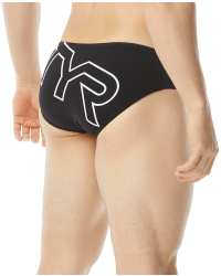 TYR Men's Big Logo Racer Swimsuit