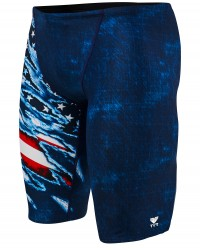 TYR Boys' Live Free Jammer Swimsuit
