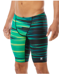 TYR Men's Lumen Jammer Swimsuit- Green