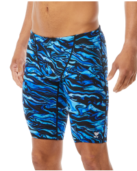 TYR Men's Miramar Jammer Swimsuit-Blue