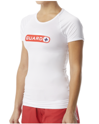 TYR Guard Women's Short Sleeve Rashguard