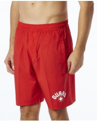 TYR Guard Men's Lake Front Land to Water Short-Red
