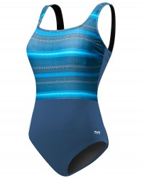 TYR Women's Tramonto Scoop Neck Controlfit Plus