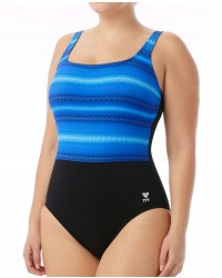 TYR Women's Tramonto Scoop Neck Controlfit